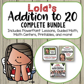 Addition to 20- Complete Bundle of Everything You Need to Teach Addition to 20