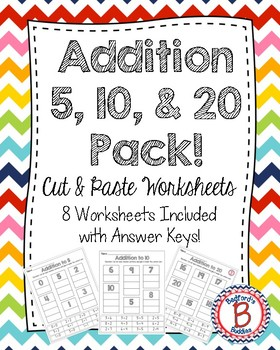 Addition to 20 Cut & Paste Pack