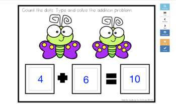 Addition to 20 Digital Task Cards | Boom Learning Cards™ | Distance Learning