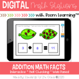 Addition to 20 Digital Task Cards | Boom Learning Cards™ |