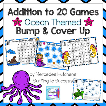Addition to 20 Games Bump and Cover Up Ocean Theme