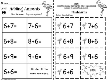 Addition to 20 Games, Timed Tests, Flash Cards and More