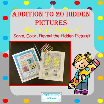 Addition to 20 Hidden Pictures: Back to School