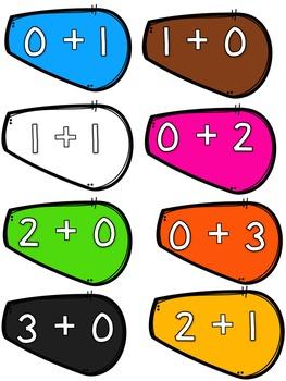 Addition to 20 (Let's Build Sum Turkeys: Thanksgiving Math Center)