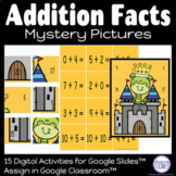 Addition to 20 Mystery Pictures | Google Classroom Distanc