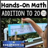 Addition to 20:  Interactive Math Hands-On