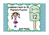 Addition to 20 Popsicle Puzzles - Differentiated
