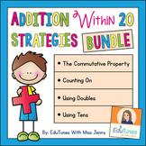 Addition to 20 FREEBIE + Practice Pages, Strategies, Games, & Songs / 90 Pages