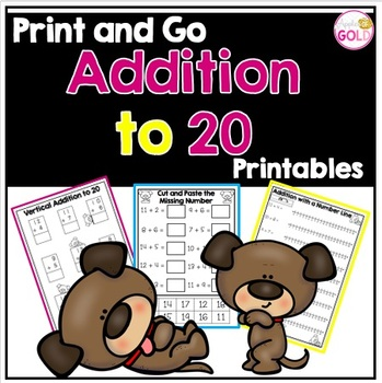 Addition to 20- Print and Go!
