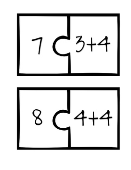 Addition to 20 Puzzles