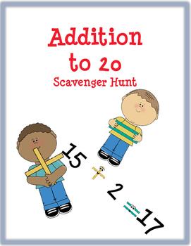 Addition to 20 Scavenger Hunt