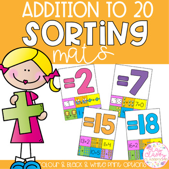 Addition to 20 Sorting Mats