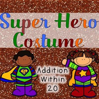 Addition to 20 Super Hero Costume