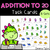 Addition to 20 Task Cards (8 sets)