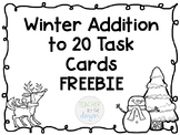 Addition to 20 Winter Task Cards *FREEBIE*