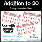 Addition to 20 With a Number Line