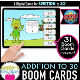 Addition to 30 -  Digital Task Cards for Boom Cards™