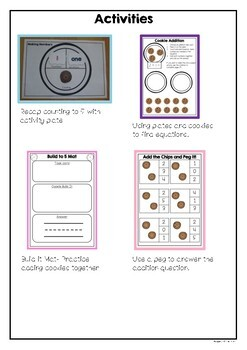 Addition to 5 Activity Pack