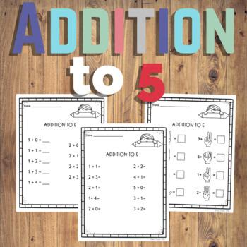 Addition to 5 Freebie