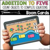 Addition to 5 Summer BOOM CARDS™ Digital NO PREP