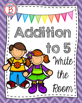 Addition to 5 Write the Room