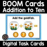 Addition to Ten Goldfish Math BOOM Cards