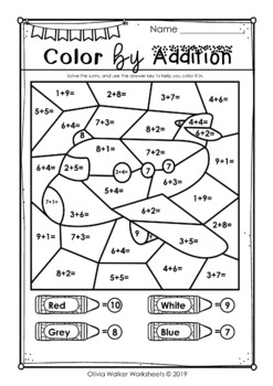 Addition to 10 (Adding to Ten) - Worksheets / Printables ...