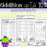 Addition to 10 (Adding to Ten) - Worksheets / Printables /