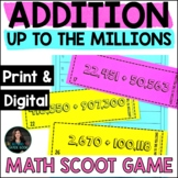 Addition to the Millions - 4th Grade Addition Math - Addit