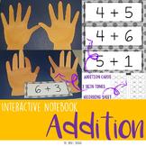 Addition up to 10 Interactive Notebook - Cuaderno interactivo de suma hasta 10