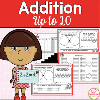 Addition To 20- 1st Grade Math Worksheets