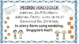 Addition up to 20:- Counting On Strategy Worksheets and As