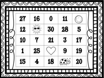 "Addition (up to 30) ""Bingo""!"