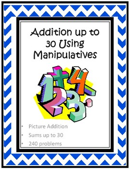 Addition up to 30 Using Manipulatives