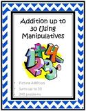 Addition up to 30 Using Manipulatives