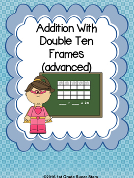 Double Ten Frame  - Addition (Advanced)