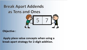 Addition using place value