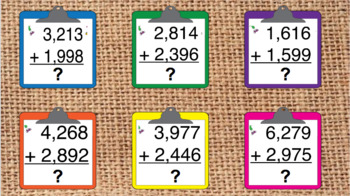 Addition w/ Regrouping Digital Interactive Notebook