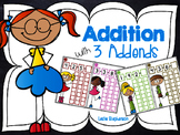 Addition with 3 Addends