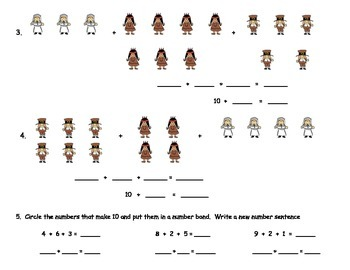 Addition with 3 addends; Make Ten to Add: Grade 1 Module 2 Supports EngageNY