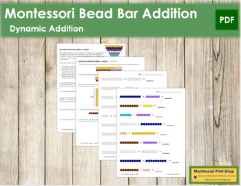Addition with Bead Bars - Complex
