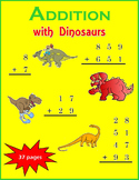 Addition with Dinosaurs