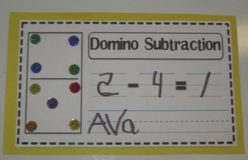 Addition with Dominos Worksheet