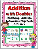 Doubles Addition Activity, Interactive Flap Book & Posters - Doubles Facts