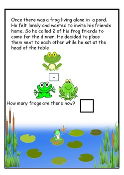 Addition with Mr Frog