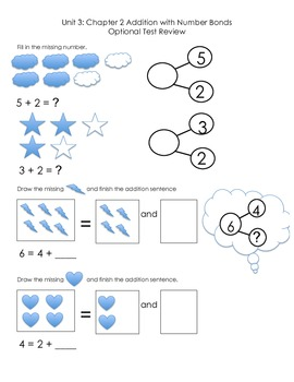 Addition with Numberbonds Review