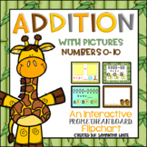 Addition with Pictures Numbers 0-10 (An Interactive Promet