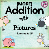 Addition With Pictures (Sums up to 15)