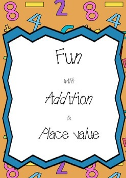 Addition with Place Value- board game