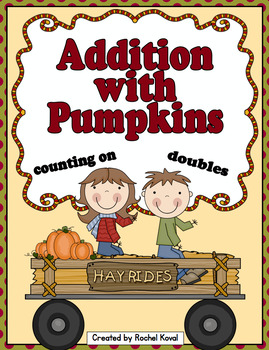 Addition with Pumpkins - counting on and doubles